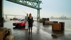 Sara Lance returns Damien Darhk to his place in time