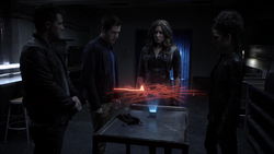 Dinah and the others investigate Felicity's map