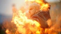 Jaco Birch using his powers