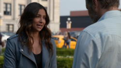 Maggie confront her father