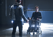 Blackout Michael Reventar and Harrison Wells Tom Cavanagh