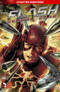 The Flash Season Zero chapter 18 digital cover