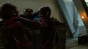 Flash fight with Everyman