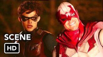 "CRISIS ON INFINITE EARTHS ""Introduction Cameos"" Clip HD Titans, Batman, Arrow, The Flash"