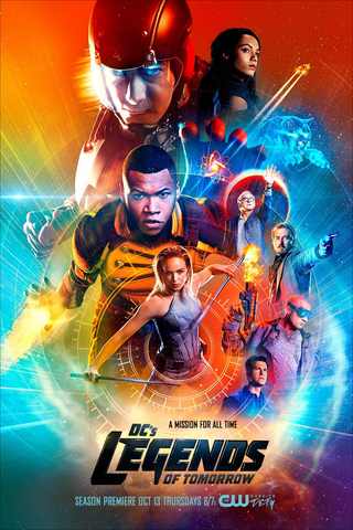 File:DC's Legends of Tomorrow season 2 poster - A Mission For All Time.png