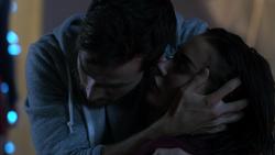 Mon-El checks Imra's breathing