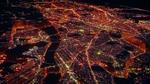 The Flash creates a barrier vibration around the city