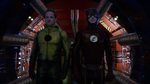 Barry about to bring Eobard Thawne back to the future