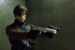 Deadshot with an eyepatch