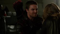 Oliver with Kara