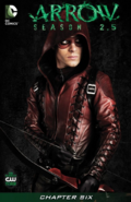Arrow Season 2.5 chapter 6 digital cover
