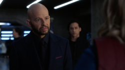 Lex assigns Supergirl as Andrea's bodyguard