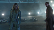 Sara Lance at the Vanishing Point in Destiny