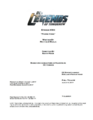 DC's Legends of Tomorrow script title page - Phone Home.png
