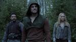 Slade Oliver and Sara prepare for battle