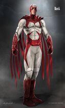 Titans - Halcón Concept Art