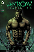 Arrow Season 2.5 chapter 17 digital cover