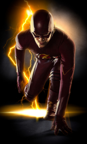 File:Barry Allen as the Flash full-body promo.png