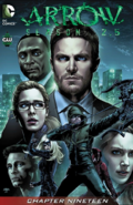 Arrow Season 2.5 chapter 19 digital cover