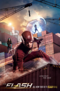 The Flash season 4 poster - Outmatched? Think Again!