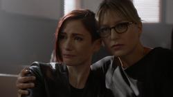 Alex joins Kara at Jeremiah's funeral