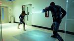 Black Lightning walczy z Thunder, stając w obronie Lynn Stewart