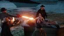 Mick burning the Cronenbaby
