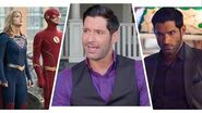 Crisis on Infinite Earths Tom Ellis Explains LUCIFER'S Cameo (Exclusive)