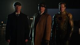 Damen Darhk, Malcolm Merlyn, and Eobard Thawne introduce themselves to Al Capone