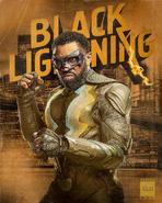 Jefferson Pierce as Black Lightning promotional image 3