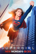 Supergirl season 1 poster - A new hero will rise.