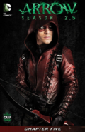 Arrow Season 2.5 chapter 5 digital cover