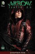 Arrow Season 2.5 chapter 5 digital cover
