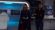 Kara Danvers and Lena Luthor talk