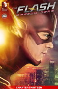 The Flash Season Zero chapter 13 digital cover
