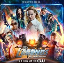 DC's Legends of Tomorrow season 4 poster