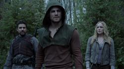 The Promise - Slade, Oliver y Sara preparados