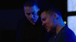 Ricardo threatens Roy to testify or he would hurt Speedy