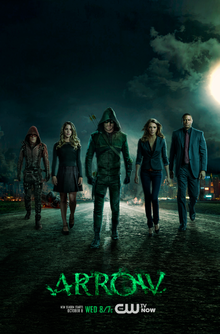 Arrow season 3 promotional poster