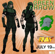 Freedom Fighters The Ray - Arrow concept art