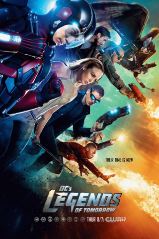 File:DC's Legends of Tomorrow season 1 poster - Their Time is Now.png
