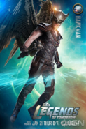 Hawkman DC's Legends of Tomorrow promo