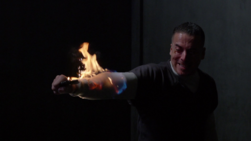 Diaz set on fire in Slabside