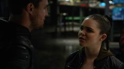 Evelyn confronts Oliver