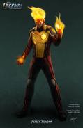 Legends of Tomorrow - Firestorm Concept Art
