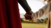 Superman taking Kara to the Danvers family