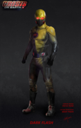 Dark Flash concept art