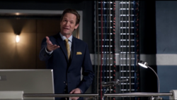 Thawne as the owner of Star Labs