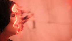 Huntress vaporized by antimatter