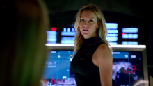 Laurel Lance talking about time travel before Sara joining Rip Hunter's Legends